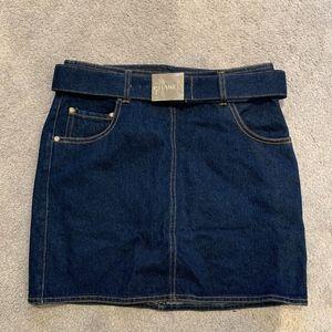 Vintage Chanel Denim Skirt